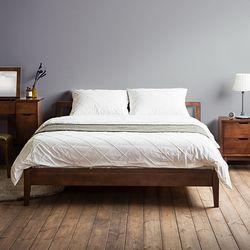 [스크래치]라떼 슬림 퀸 침대