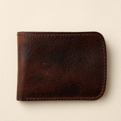 슬림 반지갑 Bifold slim wallet JB812-010(db)