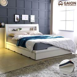 패션 평상서랍형 LED 침대 SS CL 투인스 매트리스