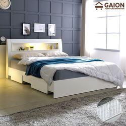 패션 서랍형 LED 침대 SS 포켓매트리스