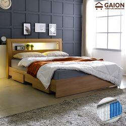 패션 서랍형 LED 침대 SS 7존 포켓매트리스