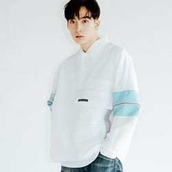 KANORAK PULLOVER JACKET WHITE