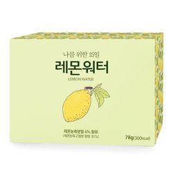 클린케어 물에타먹는비타민 레몬워터 30포