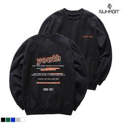 뉴해빗 - sweet period - 8S-7008 - 나염맨투맨