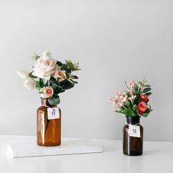 장미 & 유칼립투스 Flower 시약병 SET(대)