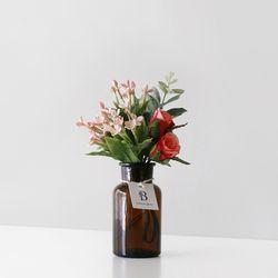 장미 & 유칼립투스 Flower 시약병 SET(소)
