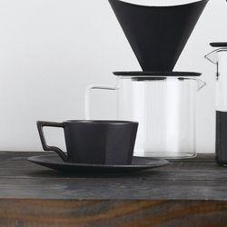 [킨토] OCT 커피잔세트 300ml (블랙)