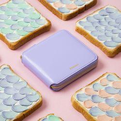 [거울키링 증정] Fennec Zipper Wallet 030 Lavender