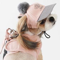 폼폼 캡 핑크