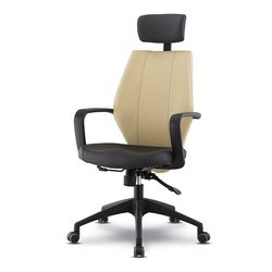 로나 B형 가죽 책상 의자 GC439-12