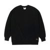 BLANK HEAVY SWEAT OVERSIZED CREWNECK BLACK