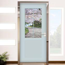ch787-창문그림(벚꽃1)현관문시트지