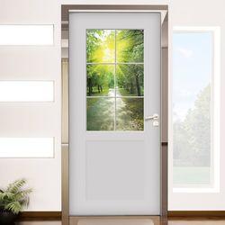 ch792-창문그림(햇살가득한날2)현관문시트지