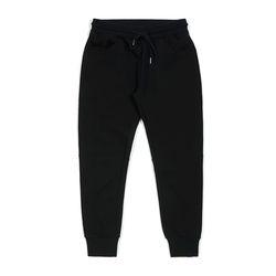 BLANK HEAVY SWEAT JOGGER PANTS BLACK
