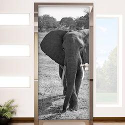 cm796-모노톤코끼리현관문시트지