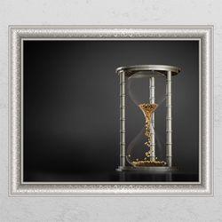 is788-황금시리즈(모래시계)창문그림액자