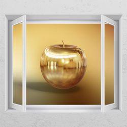 is792-황금시리즈(사과)창문그림액자