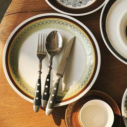 Morden vintage st cutlery 디너 사이즈