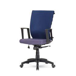 퍼플 C형 책상 의자 GC432-3