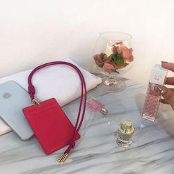 렌토 카드홀더 핑크