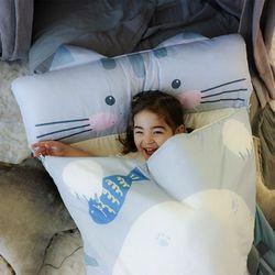 [무료배송] 유아 어린이집 일체형 낮잠이불세트