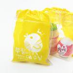 부활절 달걀 2구 복주머니 비닐백 (10개)-부활 예수님
