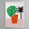 인테리어 디자인 포스터 M 보태니컬4 식물 A3(중형)