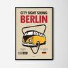 인테리어 디자인 포스터 M 독일 베를린 A3(중형)
