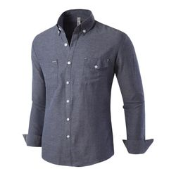 [모니즈] 투포켓 솔리드 셔츠 SHT753