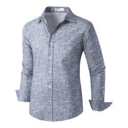 [모니즈] 멜란지 슬라브 셔츠 SHT744