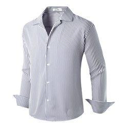 [모니즈] 오픈 줄지 셔츠 SHT737