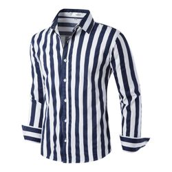 [모니즈] 스트롱 스트라이프 셔츠 SHT736