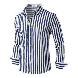 [모니즈] 베이직 스트라이프 셔츠 SHT735
