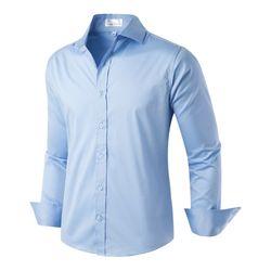 [모니즈] 심플 스판 셔츠 SHT720