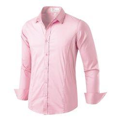[모니즈] 라인 스판 셔츠 SHT719