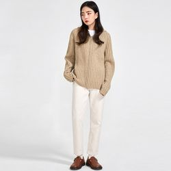 my wool knit zip-up