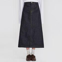 casual plain long skirts