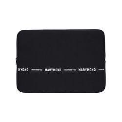 메시지 노트북 파우치 복숭아(블랙) 15인치