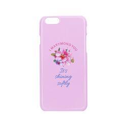 하드케이스 심플 복숭아(핑크) 아이폰7+&8+
