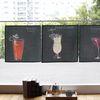 칵테일 패브릭 포스터 (바란스 가리개 겸용) - 6 type