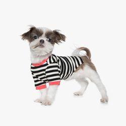70s Stripe T-shirt (Black)