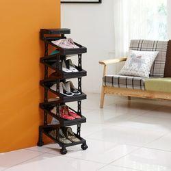 심플 지그재그 신발수납장 9족(솔통)
