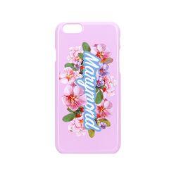 하드케이스 레터링 복숭아(핑크) 아이폰 7+&8+