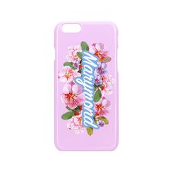 하드케이스 레터링 복숭아(핑크) 아이폰 6&6S
