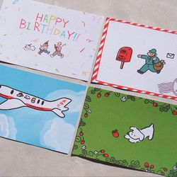 아미또 귀여운 엽서