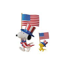 U.S.A. Snoopy & Woodstock (PEANUTS Series 5)