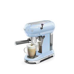스메그 커피머신 파스텔블루 한국형 ECF01PBKR