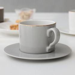 소울 그레이 커피잔 1인조 세트 1등
