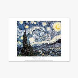 The Starry Night - 빈센트 반 고흐 009