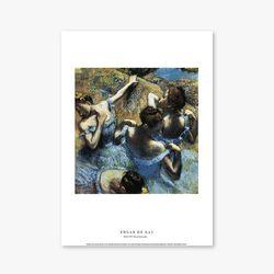 Blue Dancers - 에드가 드가 002